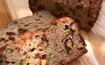 Kruh z banano in bučko